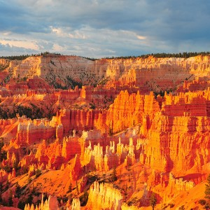 This is a photo taken of Bryce Canyon