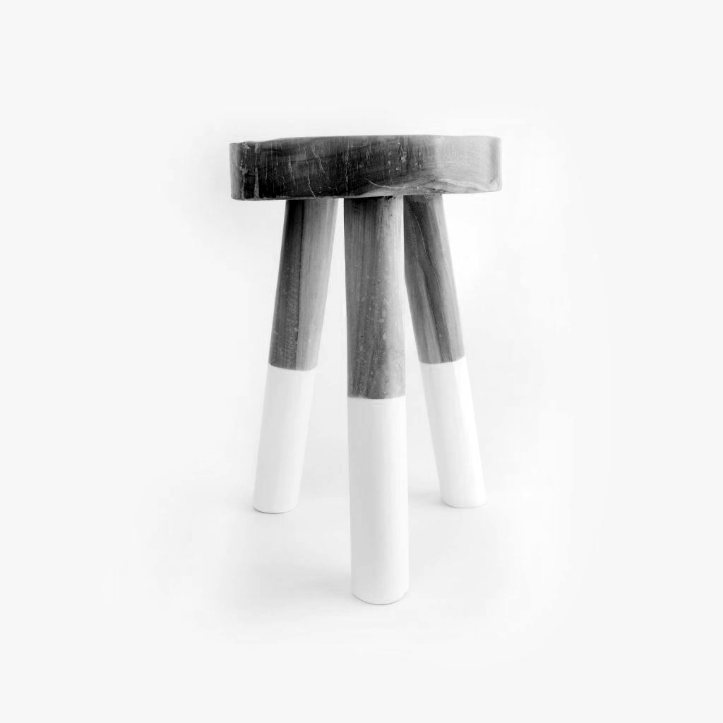 Marvelous Dipped Tripod Stool Gmtry Best Dining Table And Chair Ideas Images Gmtryco